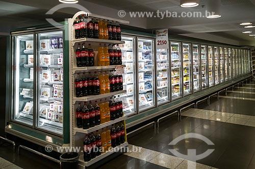 Seção de congelados em supermercado  - São Paulo - São Paulo (SP) - Brasil