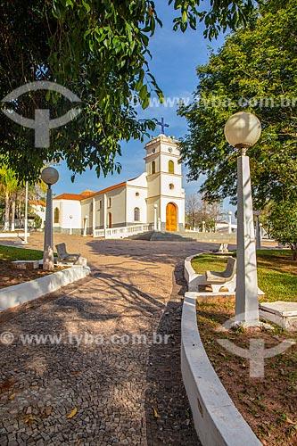 Igreja Matriz de Santa Maria na Praça Ademar Vieira Pisco  - Santa Maria da Serra - São Paulo (SP) - Brasil