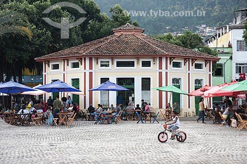 Mercado do Peixe ou Mercado Redondo (1914) - Praça Zumbi dos Palmares  - Angra dos Reis - Rio de Janeiro (RJ) - Brasil