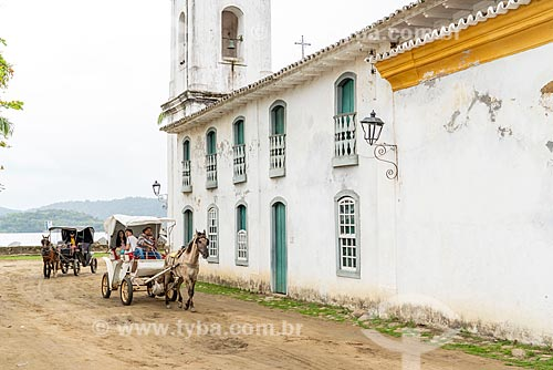 Passeio de charrete pelas ruas do centro histórico de Paraty  - Paraty - Rio de Janeiro (RJ) - Brasil