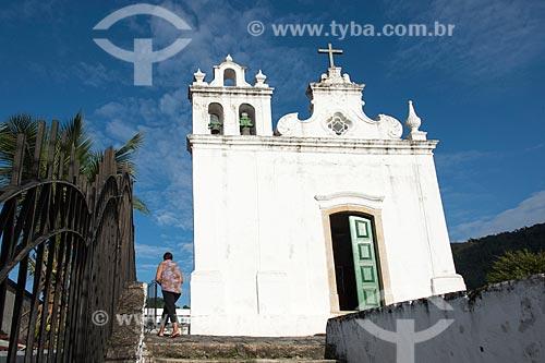Igreja de Nossa Senhora da Lapa da Boa Morte (1752) - Museu de Arte Sacra  - Angra dos Reis - Rio de Janeiro (RJ) - Brasil