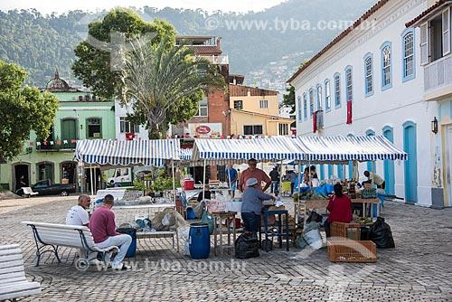 Feirinha na Praça Zumbi dos Palmares  - Angra dos Reis - Rio de Janeiro (RJ) - Brasil