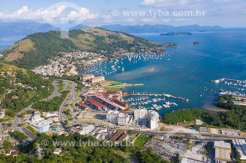 Foto feita com drone - Marina Piratas  - Angra dos Reis - Rio de Janeiro (RJ) - Brasil