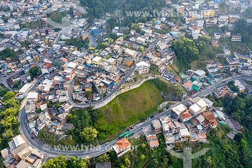 Foto feita com drone do Morro da Glória  - Angra dos Reis - Rio de Janeiro (RJ) - Brasil