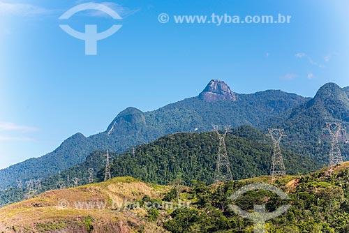 Torres de transmissão de energia das centrais elétricas de Angra dos Reis  - Angra dos Reis - Rio de Janeiro (RJ) - Brasil