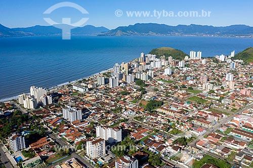 Foto feita com drone dos bairros Martim de Sá e Prainha  - Caraguatatuba - São Paulo (SP) - Brasil