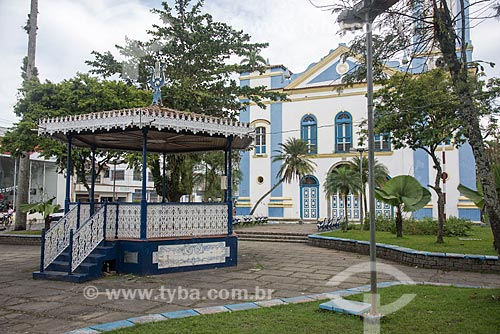 Igreja Matriz - Paróquia Exaltação da Santa Cruz (1866)  - Ubatuba - São Paulo (SP) - Brasil