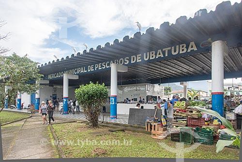 Mercado Municipal de Peixes  - Ubatuba - São Paulo (SP) - Brasil