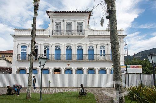 Casa de Cultura de Ubatuba - antigo Sobradão do Porto ou Casa  de Baltazar Fortes (1846)  - Ubatuba - São Paulo (SP) - Brasil
