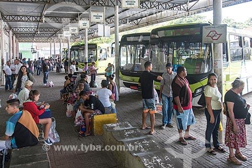 Terminal de ônibus urbano  - Ubatuba - São Paulo (SP) - Brasil