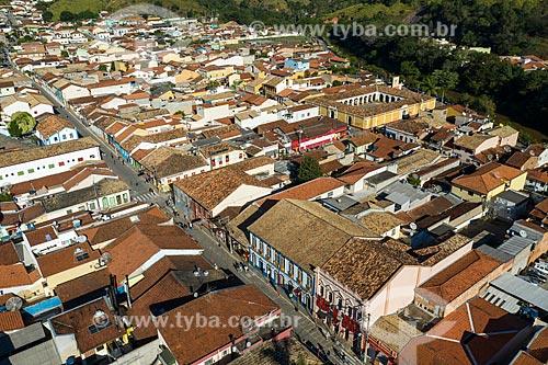 Foto feita com drone da da cidade de São Luiz do Paraitinga  - São Luíz do Paraitinga - São Paulo (SP) - Brasil