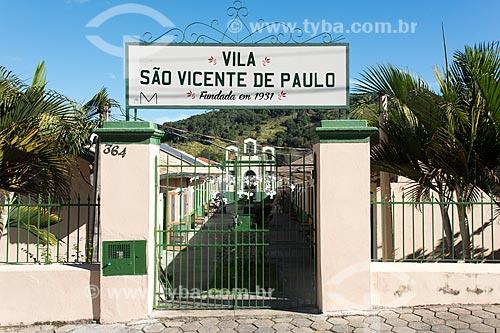 Vila São Vicente de Paula  - São Luíz do Paraitinga - São Paulo (SP) - Brasil