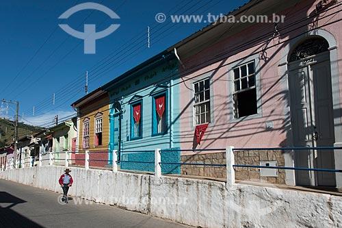 Casario do centro histórico  - São Luíz do Paraitinga - São Paulo (SP) - Brasil
