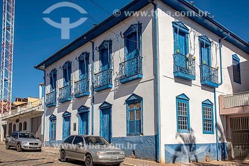 Casarão Osmar Felipe - Prefeitura Municipal  - Cunha - São Paulo (SP) - Brasil