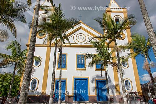 Igreja de Nossa Senhora da Conceição (1731) - construção no estilo barroco paulista - Praça José P Coelho  - Cunha - São Paulo (SP) - Brasil