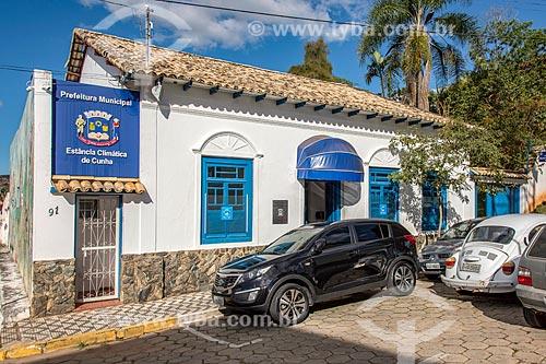 Prefeitura da cidade de Cunha  - Cunha - São Paulo (SP) - Brasil