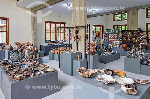 Centro de venda de cerâmica produzida na Cidade de Cunha  - Cunha - São Paulo (SP) - Brasil