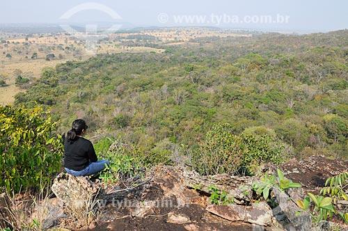 Mirante da Gruta do Pitoco - na Serra do Bom Sucesso  - Alcinópolis - Mato Grosso do Sul (MS) - Brasil