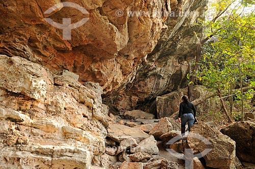 Sítio Arqueológico Gruta do Barro Branco  - Alcinópolis - Mato Grosso do Sul (MS) - Brasil