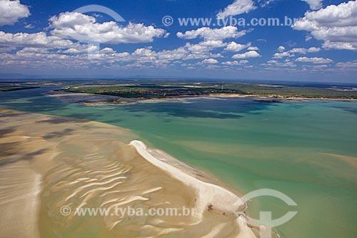 Foz do Rio Timonha - divisa entre Piauí e Ceará  - Cajueiro da Praia - Piauí (PI) - Brasil