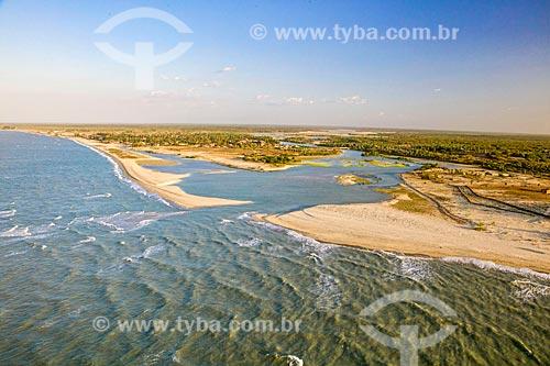 Praias de Barra Grande e Barrinha  - Cajueiro da Praia - Piauí (PI) - Brasil
