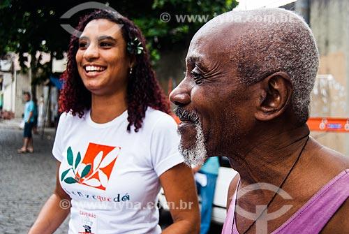 Marielle Franco no Bloco Se Benze Que Dá em desfile pelas ruas da Favela da Maré  - Rio de Janeiro - Rio de Janeiro (RJ) - Brasil