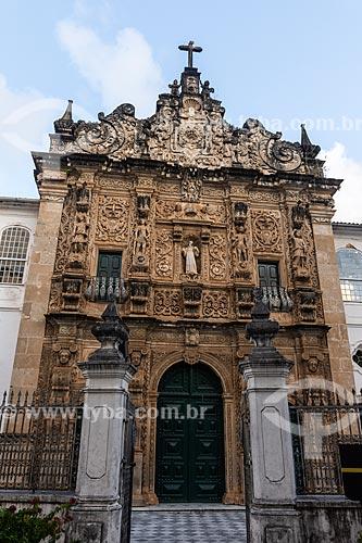 Fachada da Igreja da Ordem Terceira de São Francisco (1703)  - Salvador - Bahia (BA) - Brasil