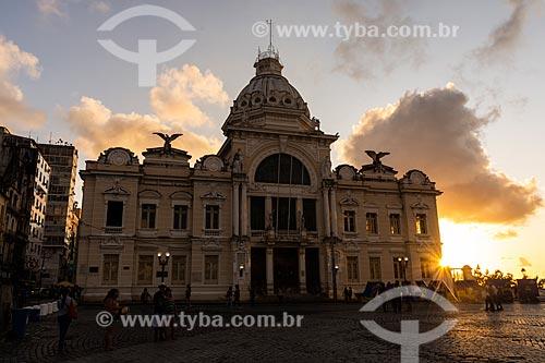 Palácio Rio Branco (século XVI) - hoje abriga o Fundação Pedro Calmon, a Fundação Cultural do Estado da Bahia e o Memorial dos Governadores  - Salvador - Bahia (BA) - Brasil