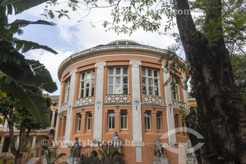 Fachada do Faculdade de Medicina da Universidade Federal da Bahia (1808) - primeira faculdade de medicina do Brasil - Salvador - Bahia (BA) - Brasil