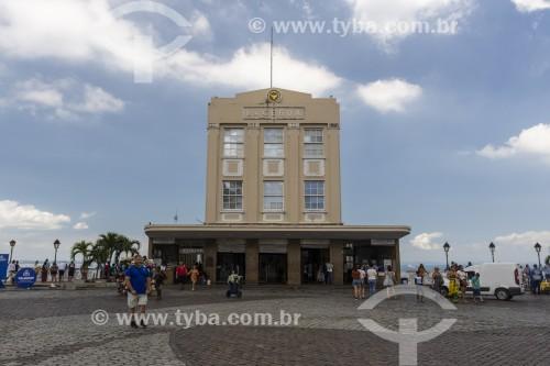 Praça Tomé de Souza e Elevador Lacerda (1873) - Salvador - Bahia (BA) - Brasil