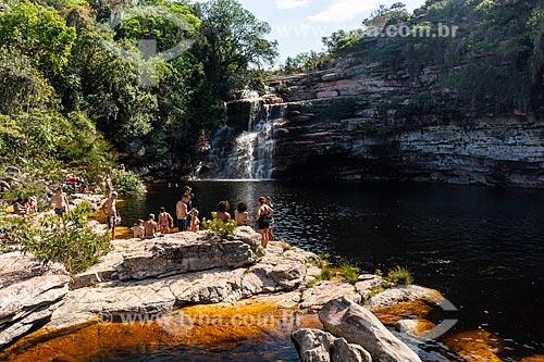 Poço do Diabo - Parque Nacional da Chapada Diamantina  - Lençóis - Bahia (BA) - Brasil