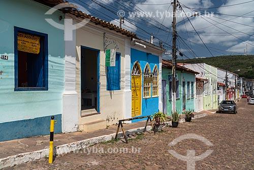 Vista da Rua Miguel Calmon (Rua da Baderna)  - Lençóis - Bahia (BA) - Brasil