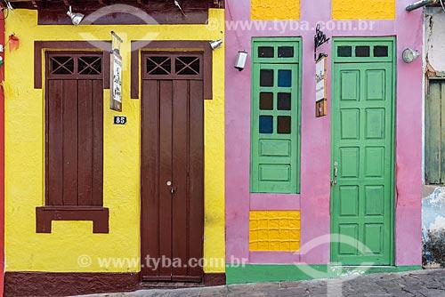 Vista da Rua Miguel Calmon (Rua da Baderna), esquina com Rua das Pedras  - Lençóis - Bahia (BA) - Brasil