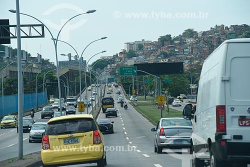 Tráfego no Viaduto Trinta e Um de Março  - Rio de Janeiro - Rio de Janeiro (RJ) - Brasil
