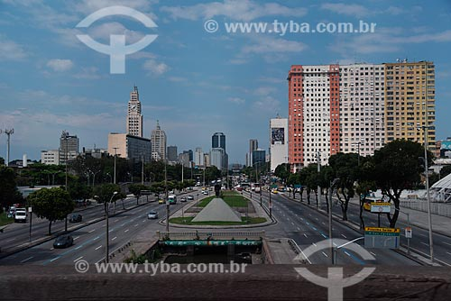 Avenida Presidente Vargas (1944) vista do Viaduto São Sebastião  - Rio de Janeiro - Rio de Janeiro (RJ) - Brasil