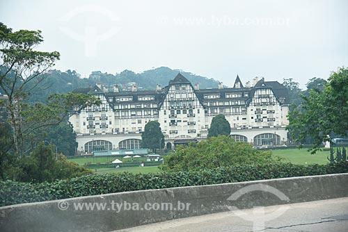 Palácio Quitandinha (1944) - também conhecido como Hotel Quitandinha  - Petrópolis - Rio de Janeiro (RJ) - Brasil