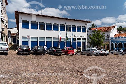 Agência do Banco do Brasil na Praça Horácio de Matos  - Lençóis - Bahia (BA) - Brasil
