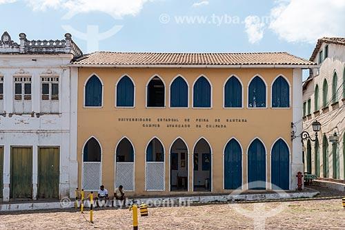 Universidade Estadual de Feira de Santana - Campus avançado da Chapada - Praça Horácio de Matos  - Lençóis - Bahia (BA) - Brasil