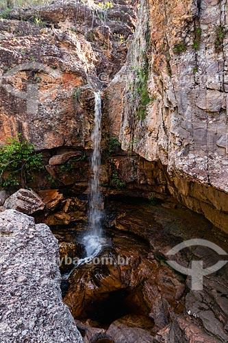 Cachoeira Primavera - Parque Municipal da Muritiba (Serrano)  - Lençóis - Bahia (BA) - Brasil