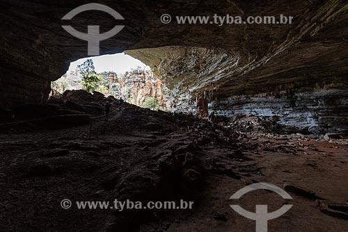 Entrada da Gruta da Lapa Doce  - Iraquara - Bahia (BA) - Brasil