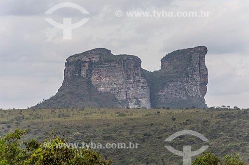 Vista do Morro do Camelo  - Palmeiras - Bahia (BA) - Brasil