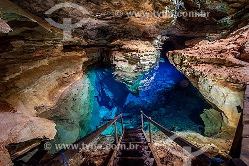 Poço Azul  - Nova Redenção - Bahia (BA) - Brasil