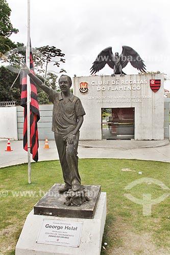 Centro de Treinamento de Futebol Presidente George Helal, conhecido como Ninho do Urubu - Centro de treinamento do Flamengo  - Rio de Janeiro - Rio de Janeiro (RJ) - Brasil