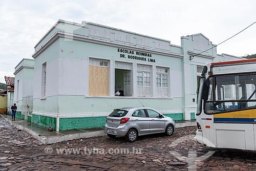 Escola Reunidas Doutor Rodrigues Lima  - Mucugê - Bahia (BA) - Brasil