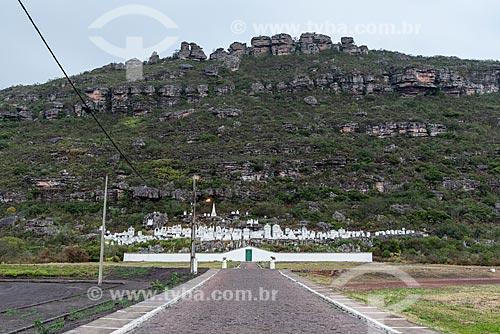Cemitério de Santa Isabel, também conhecido como Cemitério Bizantino (1886)  - Mucugê - Bahia (BA) - Brasil