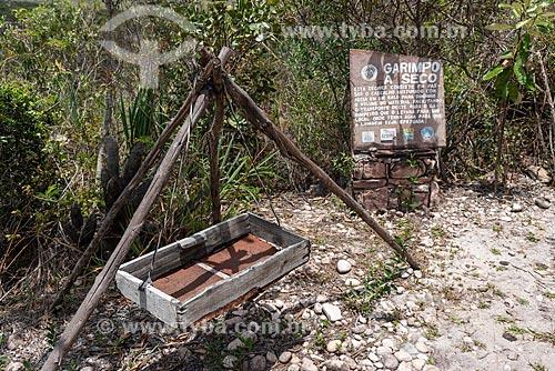 Objetos que eram usados ??por garimpeiros - Projeto Sempre Viva  - Mucugê - Bahia (BA) - Brasil