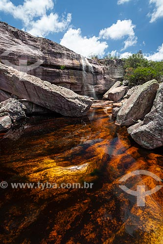 Cachoeira da Piabinha  - Mucugê - Bahia (BA) - Brasil