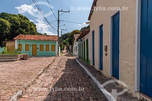 Casas no centro histórico de Igatu  - Andaraí - Bahia (BA) - Brasil