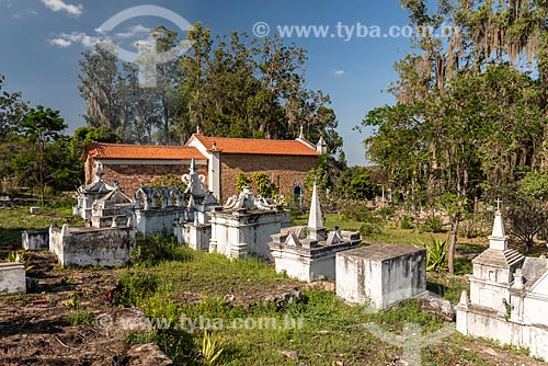Cemitério em estilo bizantino  - Andaraí - Bahia (BA) - Brasil