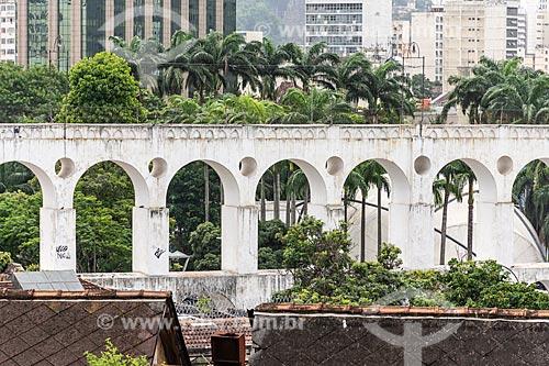 Vista dos Arcos da Lapa (1750)  - Rio de Janeiro - Rio de Janeiro (RJ) - Brasil